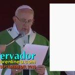 VIDEO El #PapaFrancisco se a une obispos y sociedad civil por la defensa de la familia en México. #MxDefiendeLaFamilia #CdMx24Sept https://t.co/ji8oe5yPhr