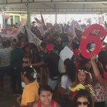 Muita festa para receber @FlavioDino em comício de Márcia Dantas e Idelfonso em  Lago Açu. https://t.co/jN4o5SJWif