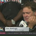 Marlins Manager Don Mattingly tearfully remembers the life and legacy of José Fernández. https://t.co/BeuYgxHPHV