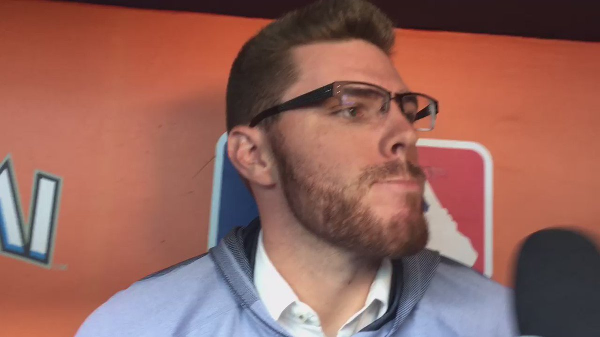 VIDEO: Freddie Freeman at a loss for words on the death of Jose Fernandez. @680_The_Fan https://t.co/Sdbs9XAurw