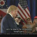 טראמפ לנתניהו: תחת הנהגתי נכיר בירושלים המאוחדת כבירת ישראל. @giltamary ו @RavivDrucker >> https://t.co/lAJqCz2Rqi https://t.co/wCQjjZ7mBm