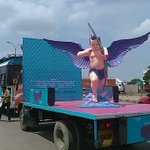Video of mobile #Remo Cupid ! Love the dedication of the team !! https://t.co/KyXJ421rdX