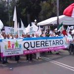 En la #MarchaPorLaFamilia más ed 400,000 mexicanos nos manifestamos por el matrimonio solo entre hombre y mujer. https://t.co/vLzenJohNF