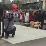 Duke and Duchess hop on board hovercraft ready to depart Vancouver #RoyalVisitCanada https://t.co/Xr8HXh9Qy8