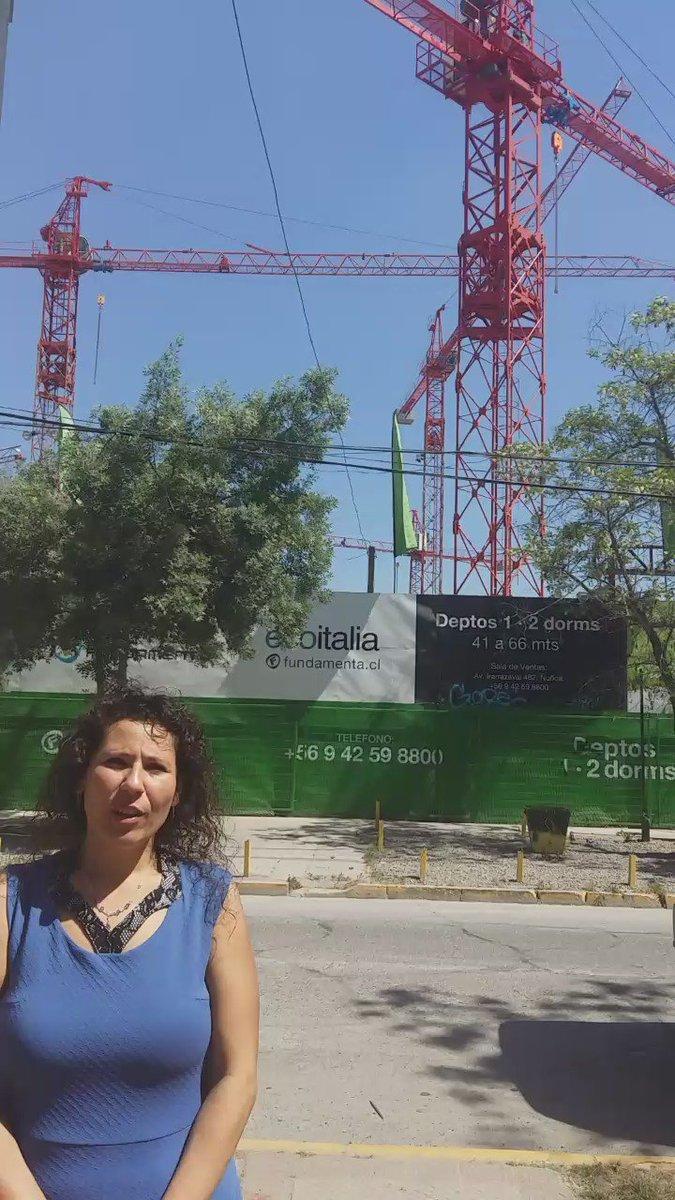 ¡Hasta cuando aguantamos! ¡35 pisos en barrio Condell de #Ñuñoa!! Ojo con promesas vacías, no somos lesos! https://t.co/OC8iB2LdYy