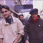 Some memorable moments on the streets of New York with Dev Anand.Shot in Nov.2001 https://t.co/lRWu4bKlER