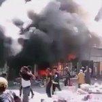 #اكتب_بلا_قيود بالفديو الحريق الذي نشب قبل قليل في #علوة_جميلة  ببغداد https://t.co/sEP146Q4ZM