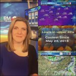 Heres your quick cast. Grab an apple cider or pumpkin spice latte. Its going to be clear &a cool #Dayton #daywx https://t.co/33L2IhRW3m