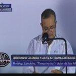 """[VIDEO] Líder de las #FARC pide """"perdón a las víctimas del conflicto"""" de más de 50 años #Colombia #FirmaDeLaPaz https://t.co/hzK4ULsLMR"""