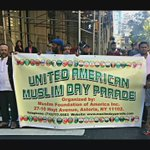 🎼#NYPDBand at the 31st Annual @MuslimDayParade in #NYC w/ @NYPDMuslim & @NYPDauxiliary https://t.co/KG3DFRoTge