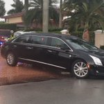 Breaking News Video: Family of Jose Fernandez escorted from home in funeral limo. @HeraldSports @MiamiHerald https://t.co/A9xHAK1ozK