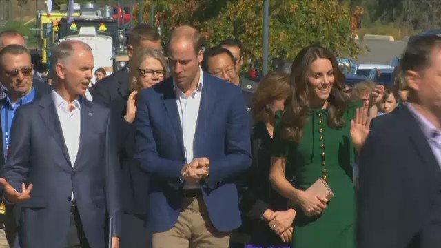 LIVE ONLINE: The Duke and Duchess of Cambridge visit Kelowna, B.C. https://t.co/bBuZht3HBC #RoyalVisitCanada https://t.co/5SxZeu6G20