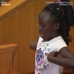 Tiene 9 años. Y hoy es la voz de miles de ciudadanos negros en EEUU #Actualidad #Charlotte https://t.co/Lpax1ORqsh