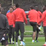 Video: Pogba dancing in training #mulive [@BeanymanSports] https://t.co/TqsKFGmpM9