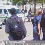 What is happening in Rhodes is pure #Police #Brutality. #Fees2017 #FeesMustFall #FeesMustFallReloaded the https://t.co/pu7Mil3aOk