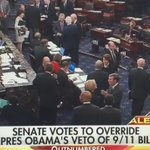 HISTORY BREAKING!!🇺🇸Senate Gained Votes to Override Obamas Veto Protecting Saudi Over 911Families🇺🇸 #WednesdayWisdom https://t.co/46JA2PfS0j