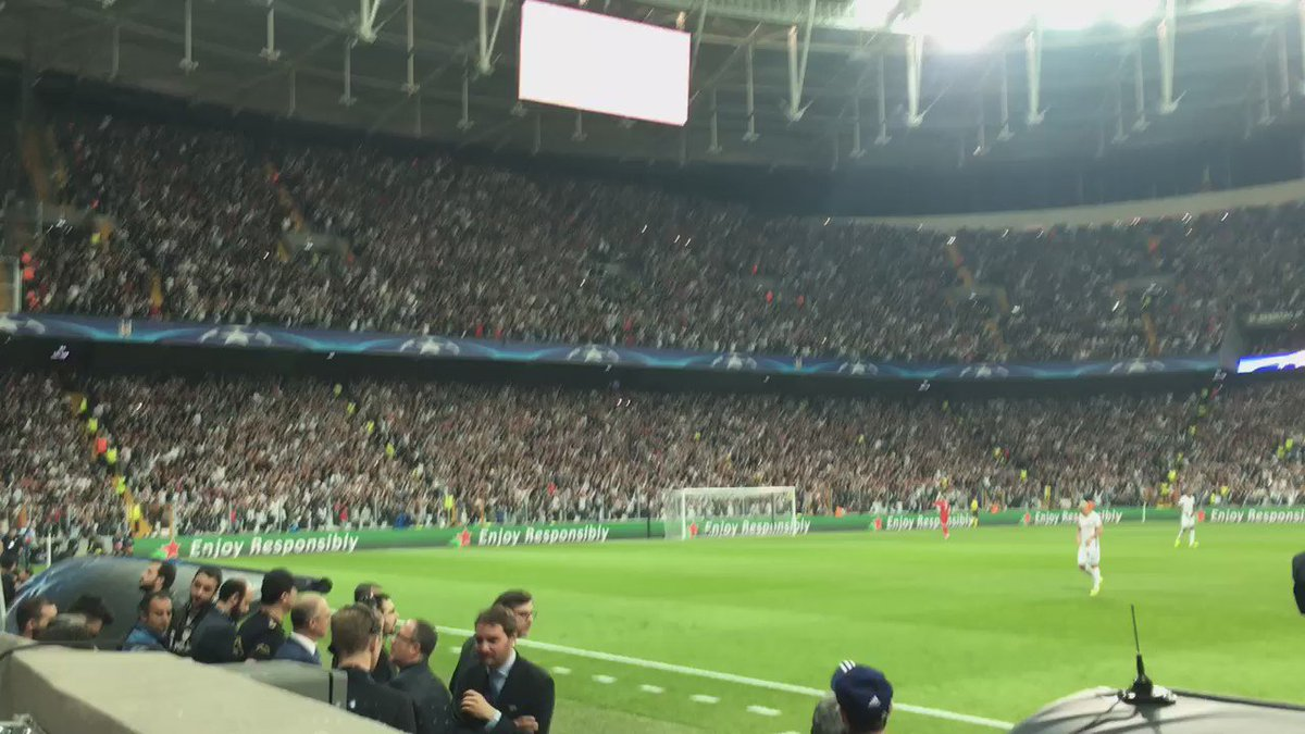 Wow. Kick-off in Istanbul. Deafening. https://t.co/MMuHUw47Ey