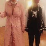 Rihanna and Mama Fenty!👸🏽👸🏾💕💕 #FENTYXPUMA https://t.co/7xPuvdEpFy