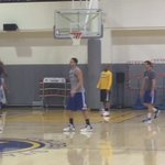 KD and Klay nearly automatic👀 https://t.co/DEB1OKnHoV