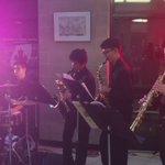 Arts@RHSS. Gr 7,8,9 night. Sax quintet with percussion @PeelSchools https://t.co/VuLErIRUTy