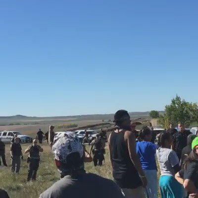 @NDGovDalrymple are you using chemical warfare against peaceful protesters?!  PLEASE BOOST THIS. #NoDAPL  @ACLU https://t.co/RthfaD0NUv