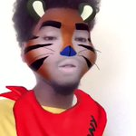 I maybe got too serious with the Tony the Tiger filter https://t.co/lqBmW883Am