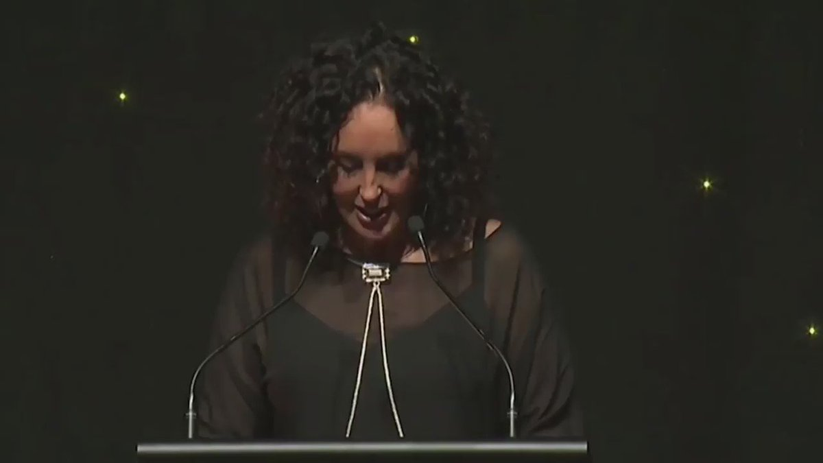 """.@moanatribe on stage at the #silverscrolls16. """"We never heard our language on the radio back in the day."""" https://t.co/bZHnwEpVJ1"""