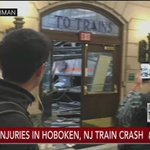 MORE: Multiple injuries reported in Hoboken train crash; @SteveCapus reports from scene https://t.co/WNycHeRjQ6 https://t.co/Lhk5zxLG15
