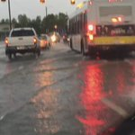 90-minute drive to work this morning through flooded streets on the East Side #detroit https://t.co/RQFM05oZJl