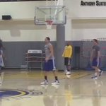 Heres 75 seconds of Klay and KD getting buckets. https://t.co/GyaaBGLlxO