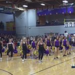 @SentinelHigh band, cheer & dance team up for the first time in years! @LewishNelson @McpsMT #homecoming https://t.co/cPWWiP60i0