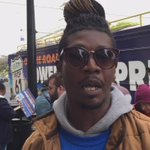 James Vinson of #Oakland joins RNs, #YesOn61 bus to #StopPharmaGreed because his wife cant afford her medication. https://t.co/7OhIrTVxkj