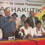 Intervención de Paco Moncayo tras recibir el apoyo electoral de Pachakutik @eluniversocom https://t.co/WiKXuRryck