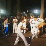"""En el Ciclopaseo Nocturno La Mariscal disfrutamos del Grupo Capoeira """"NAGÓ"""", en Parque Julio Andrade #PedaleaQuito 🚲 https://t.co/U7IyDMQOK8"""