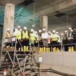 Terjun langsung ke lapangan, Presiden didampingi Gubernur Jakarta, @basuki_btp tinjau lokasi proyek #MRT Dukuh Atas https://t.co/jIRmO277GC