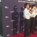 [VID] KBSWORLDTV posted a video of BTS in KWF in Changwon Red Carpet #방탄소년단 #정국 #JUNGKOOK #BTS https://t.co/phIV7I1YMr