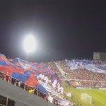 La Hinchada azulgrana así recibió a Cerro Porteño ante Santa Fe @780AM @Futbol780 https://t.co/5nGwJru8OL