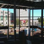 View of front atrium and ice surface of Downtown Centre from second level #Moncton #MonctonNews #NBNews #nb #nbpoli https://t.co/k16qnGrJ6d