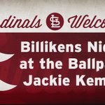 .@SaintLouisWBB Jackie Kemph threw out the first pitch at last nights @Cardinals game for #Billikens night. https://t.co/bmUKW83OI2