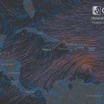 Huracan #Matthew CAT3 - animacion de vientos a 10m para el 30/09/2016 - GFS de NOAA - @CNNEE @TReporta @quinnannette https://t.co/UQpZkKZRTo