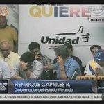 Labilidad afectiva y conducta inapropiada: Allup se burla de Capriles en rueda de prensa https://t.co/n4MisZwkuP