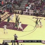 #TBT: Remember when Mike Oguine swatted this guy? That was awesome. #GrizHoops starts today! 🐻🏀💪🏻⚡️ https://t.co/8UgEZQyKu6