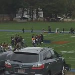 @jeffphowe Tom Brady throwing passes at Milton Academy for an Under Armour commercial #GOAT https://t.co/P2Z4ULV1fM