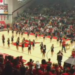 Homecoming assembly...Lets Go Scarlets!!! https://t.co/xIm2uyLqli