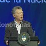 """.@mauriciomacri volvió a afirmar que """"estamos lejos de alcanzar la pobreza cero"""" https://t.co/5nOQzU4Vu7"""