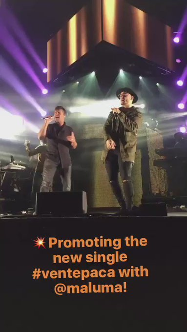 Instagram @instagram: Today on our story: Join @ricky_martin and @maluma for their gig in London #Ventepaca https://t.co/litgu8XbwM