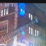 People and animals being rescued from a upper floor at 2 alarm fire on Park ave. #roc @TWCNewsROC https://t.co/1nTCMfPpz2