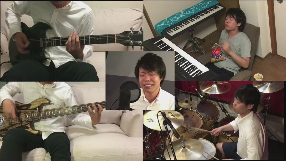 【ドラマーが一人でドラゴンボールZのCHA-LA HEAD-CHA-LAを演奏してみた】ついに動画公開!!フルバージョン