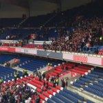 Les #Ultras sont toujours là alors que le Parc est vide, respect 👏 #PSGFCGB @Collectif_U_P #Auteuil https://t.co/7GuwPwlYmx