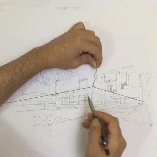 Curioso truco para dibujar en perspectiva https://t.co/LlcziOgmyB